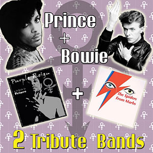 Tributo Bowie + Prince